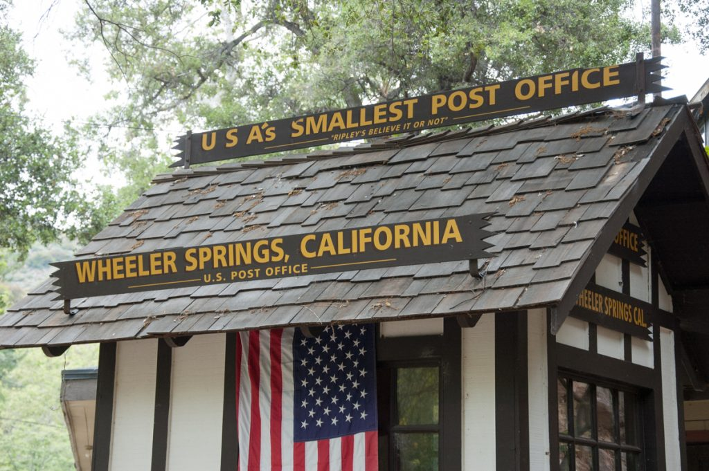Wheeler Springs SR 33 California