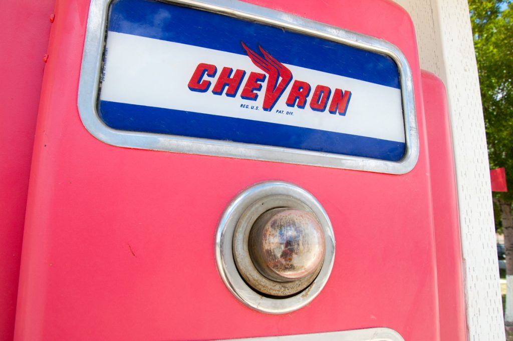 chevron gas pump sr 33