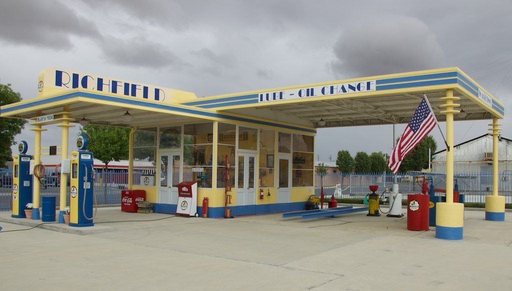 rc baker gas station