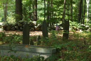 Hercules Fernald grave site, North Berwick, Maine