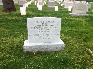 grave of thomas tidball trapnell